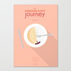 The Hundred foot journey - minimal poster Canvas Print