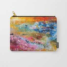 LAVENDER MEADOWS AT SUNSET Carry-All Pouch