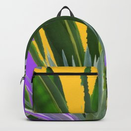 PURPLE DESERT CACTI & FLOWERS Backpack