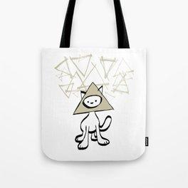 minima - pyramid cat Tote Bag
