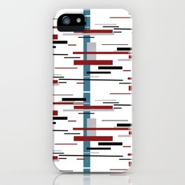 lineas iPhone Case