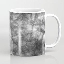 Black and White Tie Dye Coffee Mug