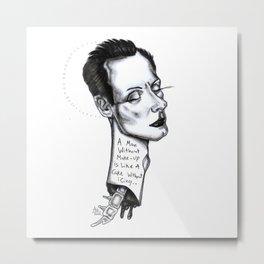 Klaus Nomi Metal Print