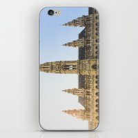 vienna iPhone & iPod Skins featuring Rauthaus | Vienna by Carrie Baker
