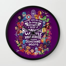 Remarkable People Wall Clock
