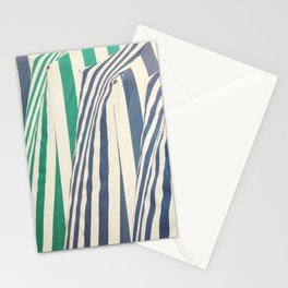 Beach Cabins Stationery Cards