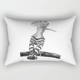 Hoopoe drawing Rectangular Pillow