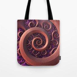 Spiral Mania Tote Bag