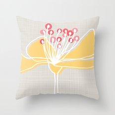 Cherry Blossom: Stone Throw Pillow