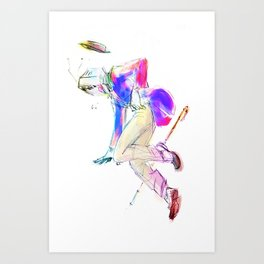 TPoH: fall of a Monster Art Print