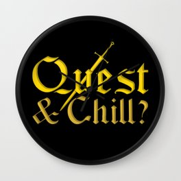 Quest & Chill? Wall Clock