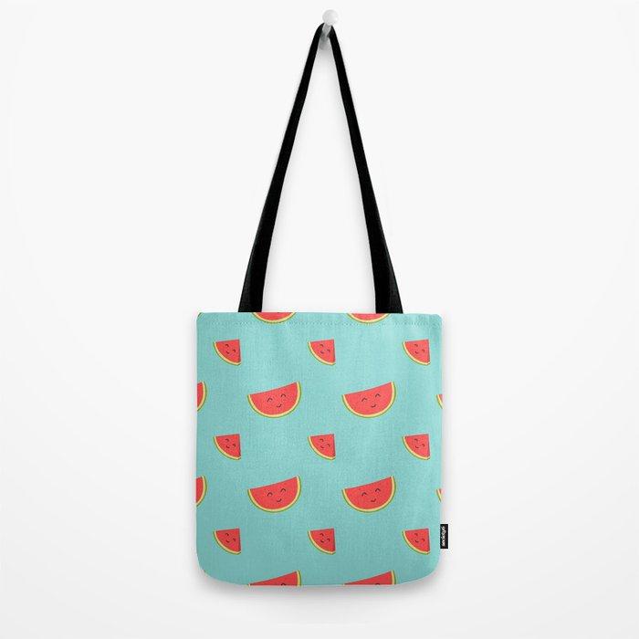 Happy Watermelon Tote Bag