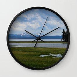 Pelican Creek - Yellowstone Lake Wall Clock