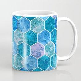 Frozen Leaves in Hexagonal Pattern 2 Coffee Mug
