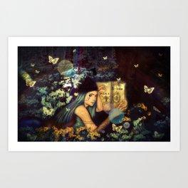 The Gardens (Poka)  Art Print