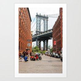 Manhattan Bridge- New York City III Art Print