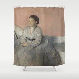 Portrait of Madame René de Gas Shower Curtain