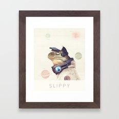 Star Team - Slippy Framed Art Print