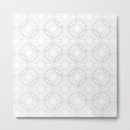 Rondo Grey Metal Print