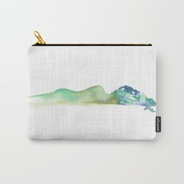 Fall of the Tree Goddess - Cool Tones Carry-All Pouch