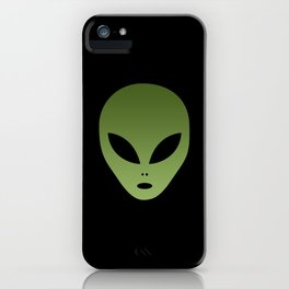 Extraterrestrial Alien Face iPhone Case