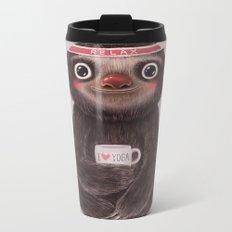 Sloth I♥yoga Metal Travel Mug