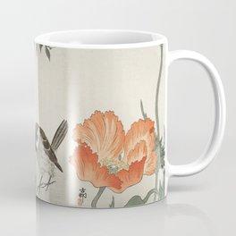 Assorted birds and flowers illustration Coffee Mug