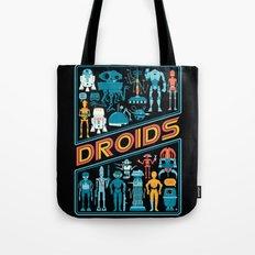 Star.Wars Droids - Sci-Fi Movie Art Tote Bag