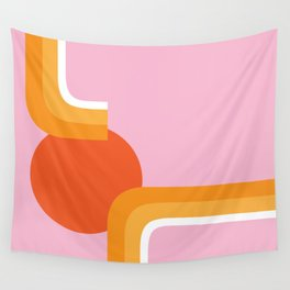 Rolling Sun Wall Tapestry