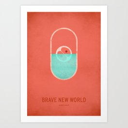 Brave New World Art Print