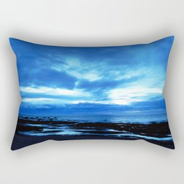 Arm from Above Plays with the Sunset Rectangular Pillow