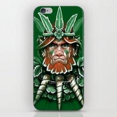 Wild Leprechan iPhone Skin