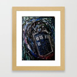 Type 40 Framed Art Print
