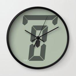 zero hours day glance Wall Clock