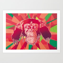 Kikazaru Art Print