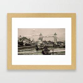 London Tower Bridge Framed Art Print