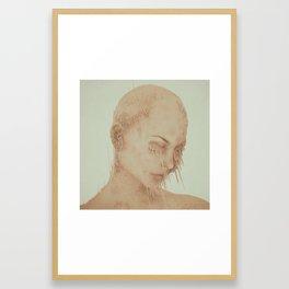 SAME INSIDES (everyday 06.17.16) Framed Art Print