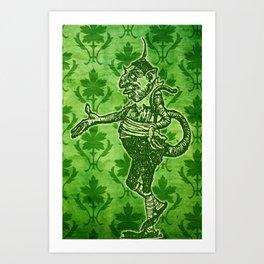 Green Goblin Art Print