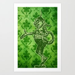 Green Goblin Art Print