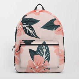 Mountain Wild Flowers – Blush & Sage Backpack