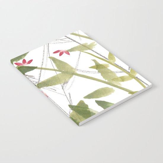 Pink flowers Notebook