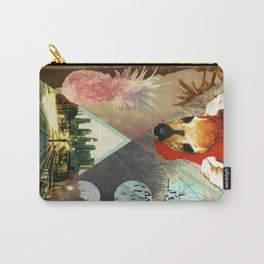 Fawn Over Pineapples Carry-All Pouch