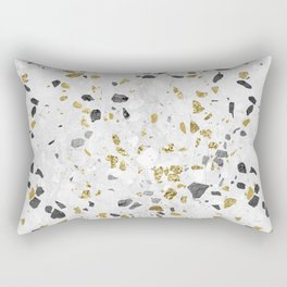Glitter and Grit Rectangular Pillow