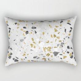 Glitter and Grit Rectangular Pillow
