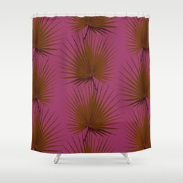 Palm Leaves Edition Shower Curtain