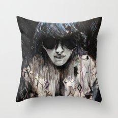 Black Mirror Throw Pillow