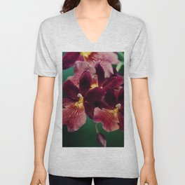The mystery of orchid(13) Unisex V-Neck