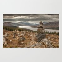 scotland Area & Throw Rugs featuring Scotland by Miguel Cardoso