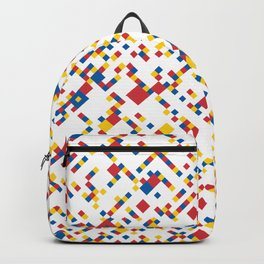 BOOGIE w/white Backpack