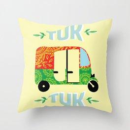 Tuk tuk #society6 Throw Pillow